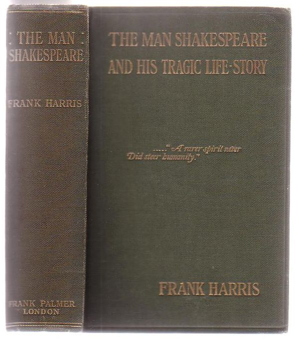Image for The Man Shakespeare And His Tragic Life Story