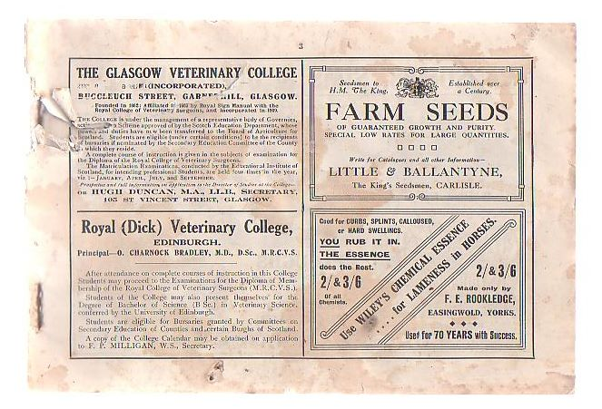Image for Scottish Farmer Album For 1919