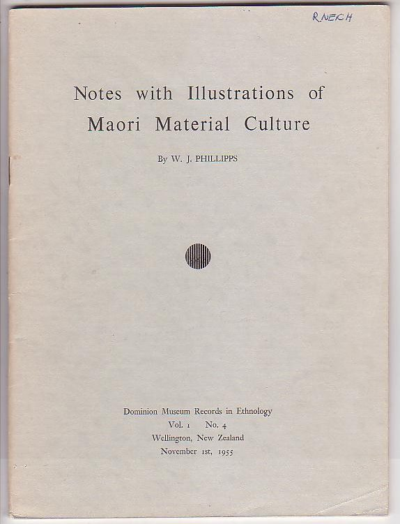 Image for Notes with Illustrations of Maori Material Culture