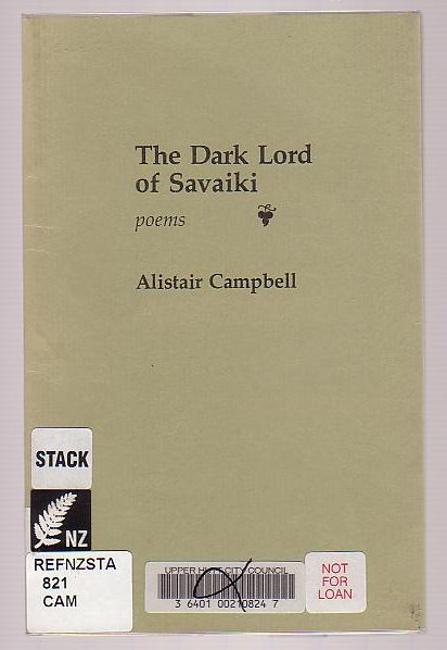 Image for The Dark Lord of Savaiki
