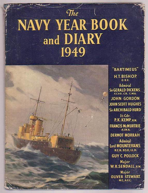 Image for The Navy Year Book and Diary 1949