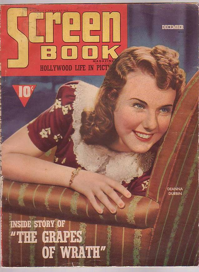 Image for Screen Book Magazine December 1939 The News Magazine of the Movies