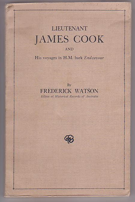 Image for Lieutenant James Cook and His Voyages in H. M. Bark Endeavour