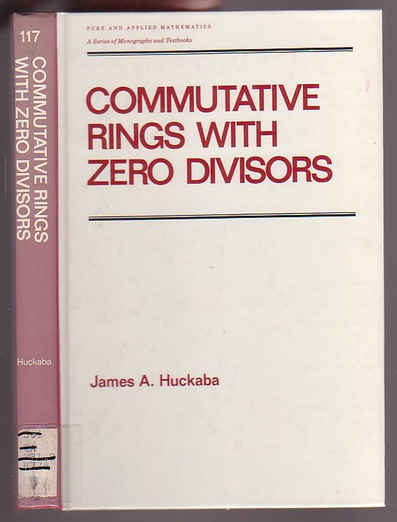 Image for Commutative Rings with Zero Divisors