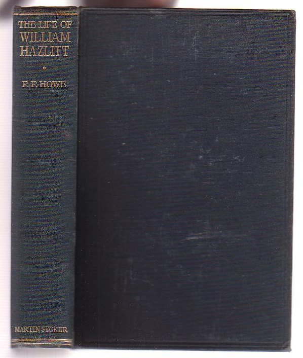 Image for The Life of William Hazlitt