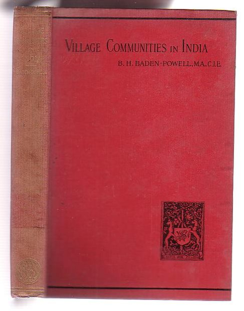 Image for The Origin and Growth of Village Communities in India