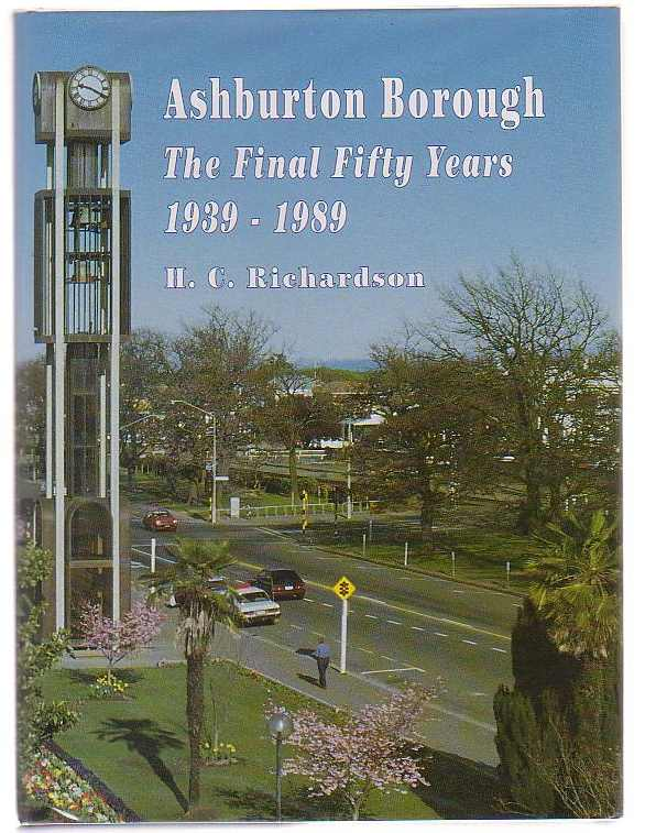 Image for Ashburton Borough: The Final Fifty Years 1939-1989