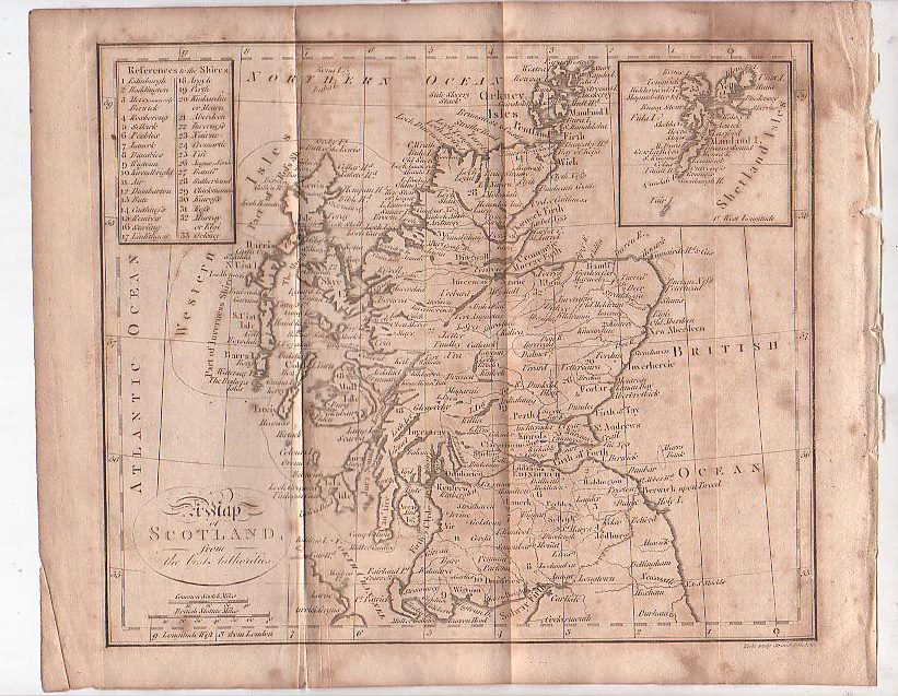 Image for Map - Scotland