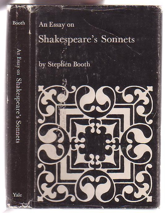 Image for An Essay on Shakespeare's Sonnets