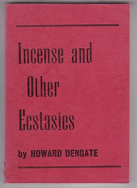 Image for Incense and Other Ecstasies
