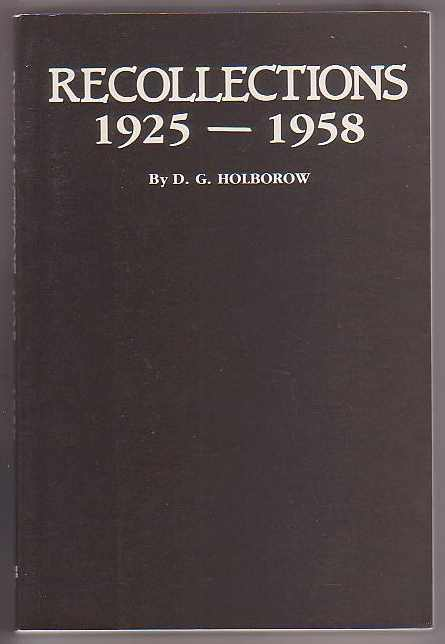 Image for Recollections 1925-1958