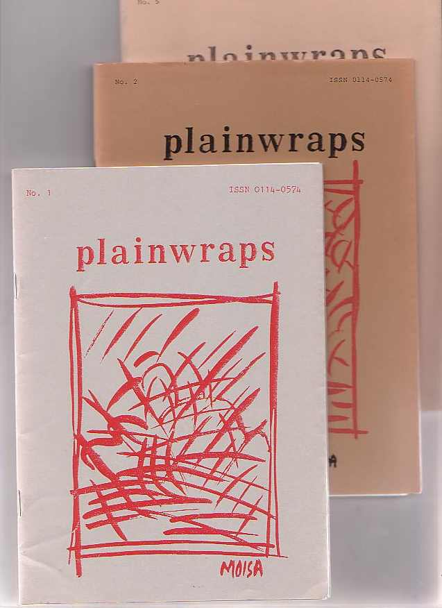 Image for Plainwraps. [3 Issues: Numbers 1, 2 and 5]