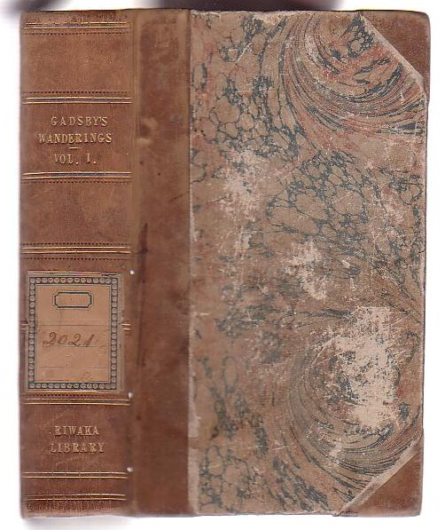 Image for My Wanderings. Being Travels in the East in 1846-47, 1850-51, 1852-53. Volume One.