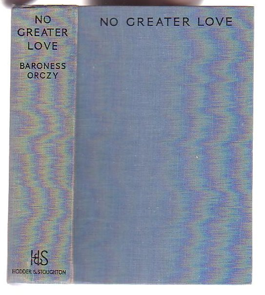 Image for No Greater Love