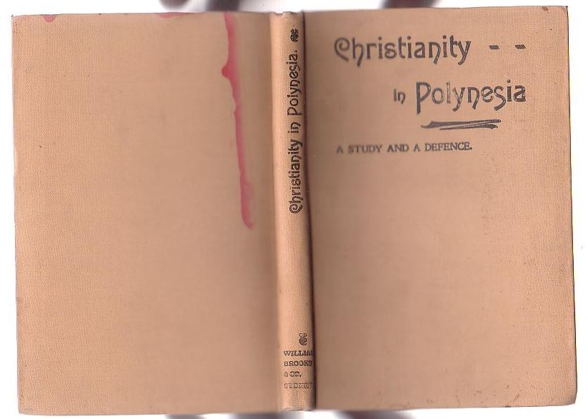 Image for Christianity in Polynesia: A Study and a Defence