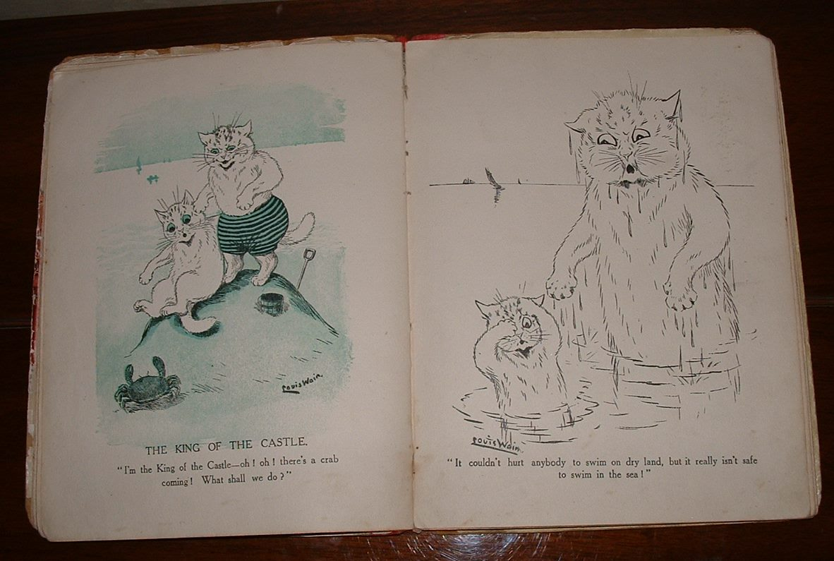 Image for To Nursery Land with Louis Wain