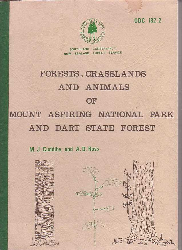 Image for Forests, Grasslands and Animals of Mount Aspiring National Park and Dart State Forest