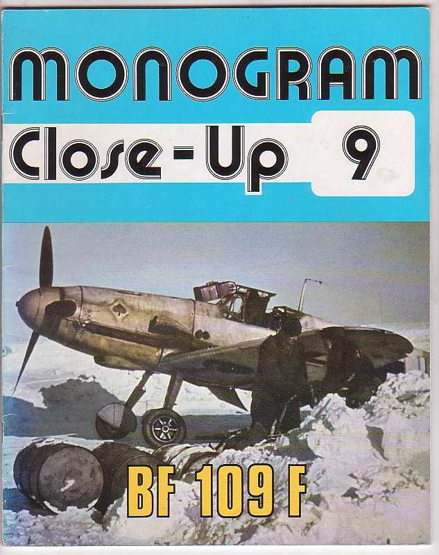 Image for Monogram Close-Up 9: BF 109 F