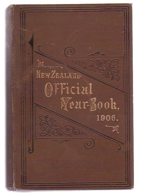 Image for The New Zealand Official Year-Book 1906