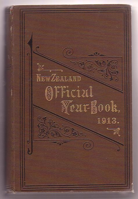 Image for The New Zealand Official Year-Book 1913
