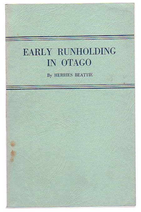 Image for Early Runholding in Otago