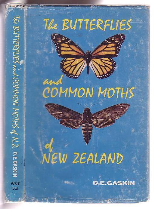 Image for The Butterflies and Common Moths of New Zealand