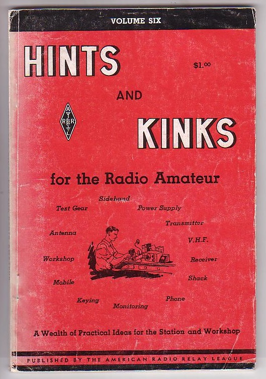 Image for Hints and Kinks for the Radio Amateur. Volume Six.