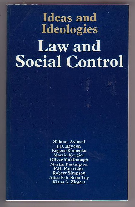 Image for Law and Social Control