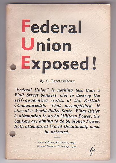 Image for Federal Union Exposed!