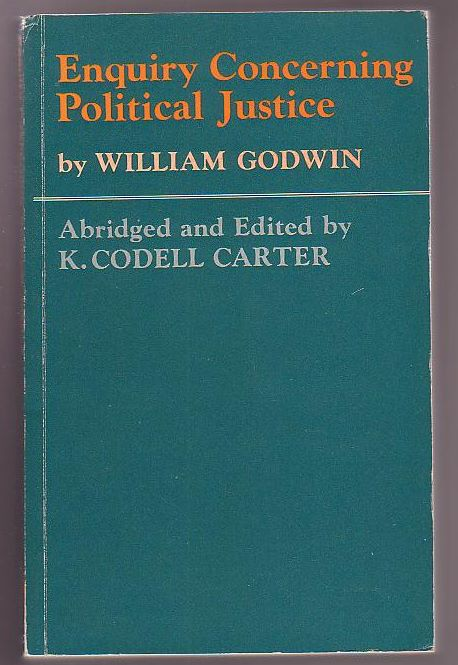 Image for Enquiry Concerning Political Justice with selections from Godwin's other writings