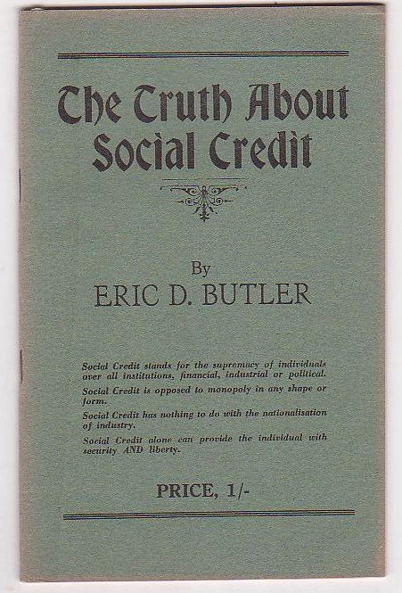 Image for The Truth about Social Credit