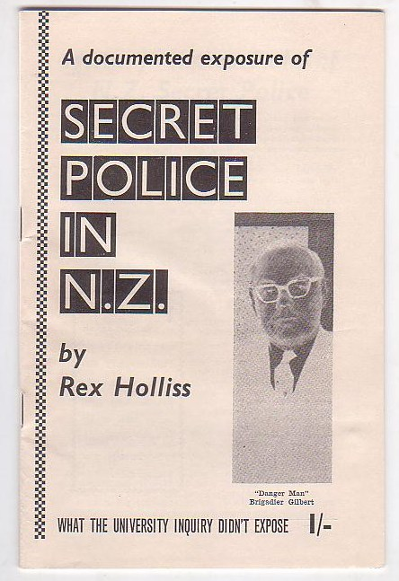 Image for A Documented Exposure of Secret Police in N.Z.: What the University Inquiry Didn't Expose