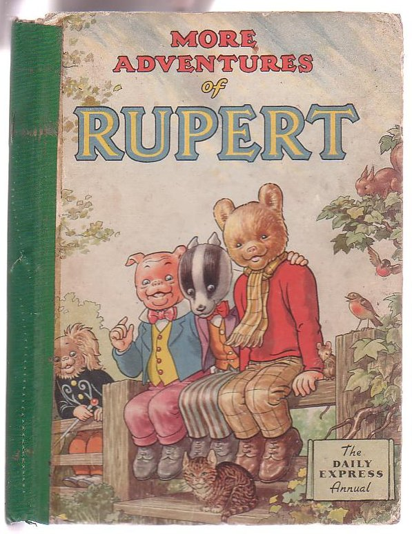 Image for More Adventures of Rupert [Rupert Annual 1953]