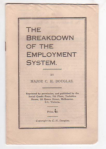 Image for The Breakdown of the Employment System
