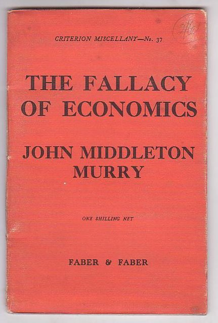 Image for The Fallacy of Economics
