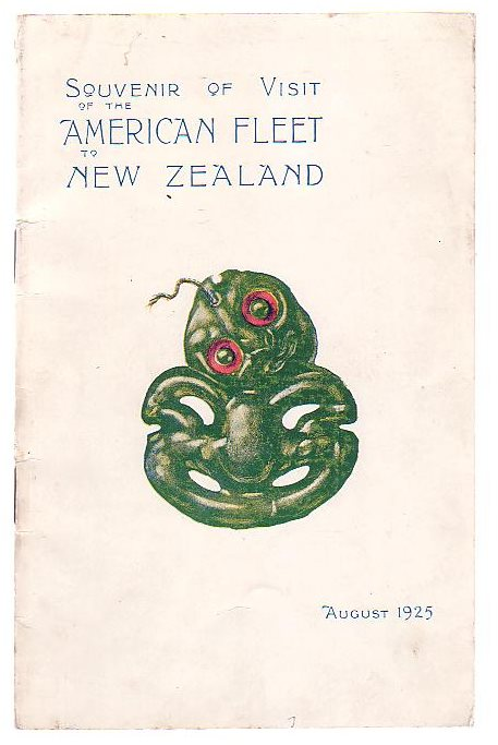 Image for Souvenir of Visit of the American Fleet to New Zealand August 1925