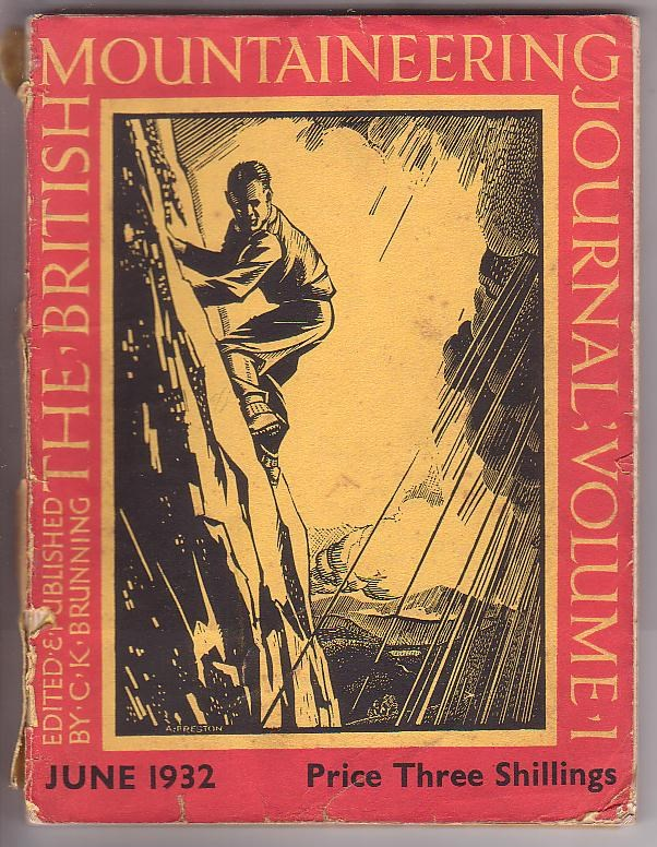 Image for Mountaineering Journal Vol. 1 No. 1 June 1932