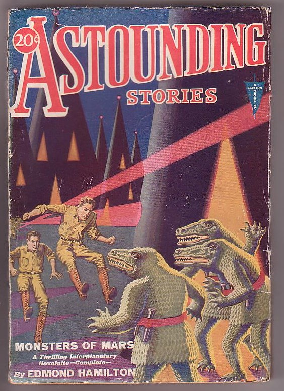 Image for Astounding Stories - Vol. VI, No. 1 - April, 1931