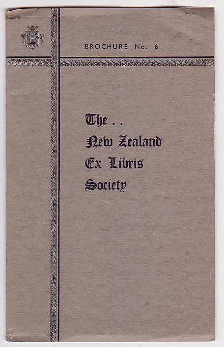Image for The New Zealand Ex Libris Society - Brochure No. 6