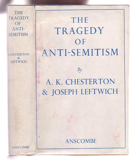 Image for The Tragedy of Anti-Semitism