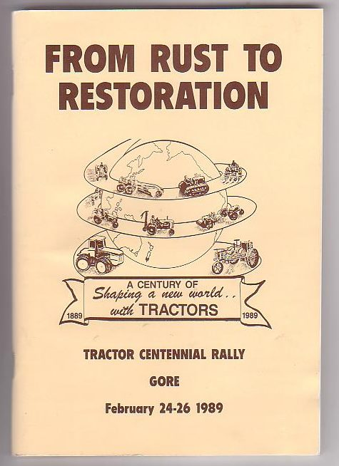 Image for From Rust to Restoration. Tractor Centennial Rally Gore February 24-26 1989