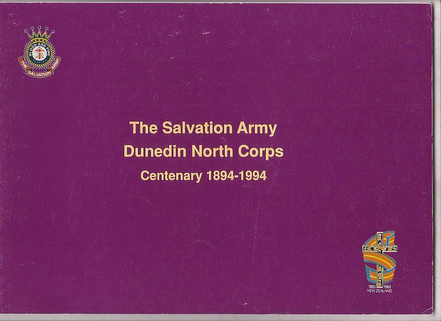 Image for The Salvation Army Dunedin North Corps Centenary 1894-1994