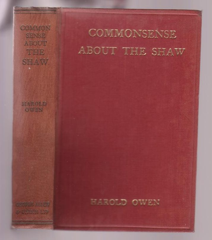 "Image for Common Sense about the Shaw: Being a Candid Criticism of ""Common Sense about the War,"" by Bernard Shaw"