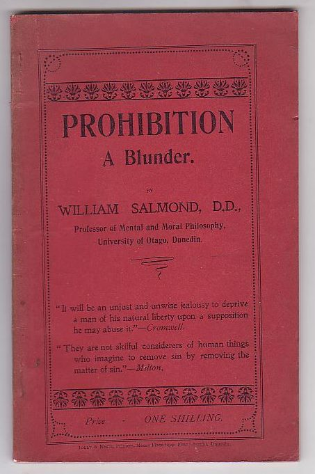 Image for Prohibition: A Blunder