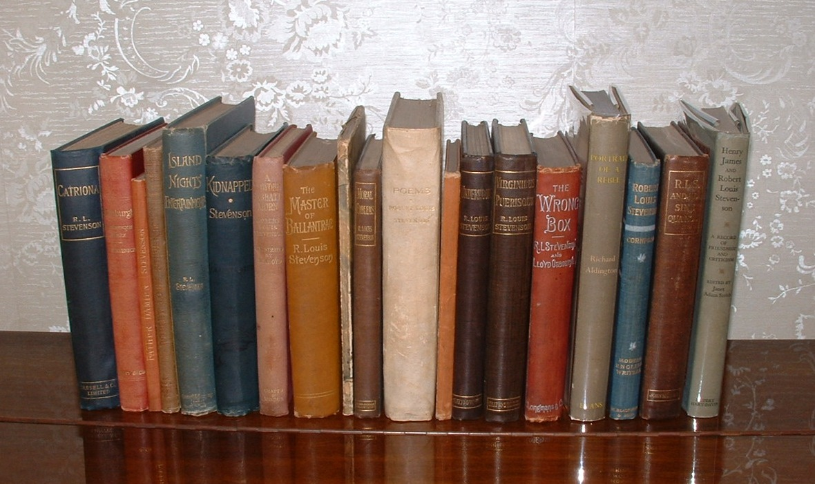 Image for [Group of 15 early editions of works by Robert Louis Stevenson, together with 4 works about Robert Louis Stevenson (19 books in total)]