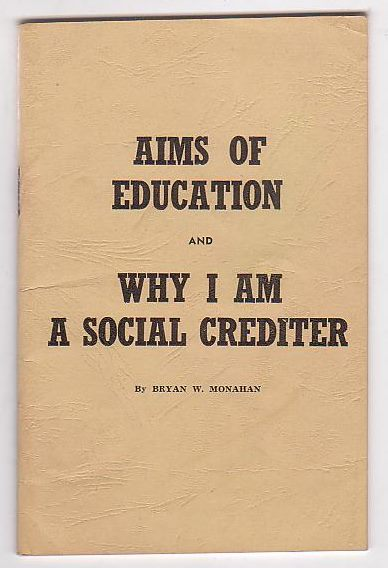 Image for Aims of Education and Why I am a Social Crediter