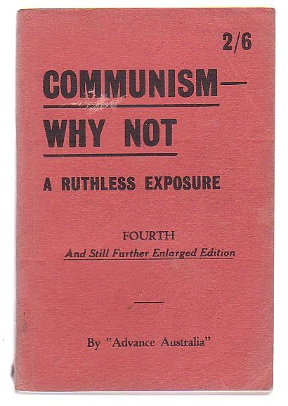 Image for Communism - Why Not - A Ruthless Exposure