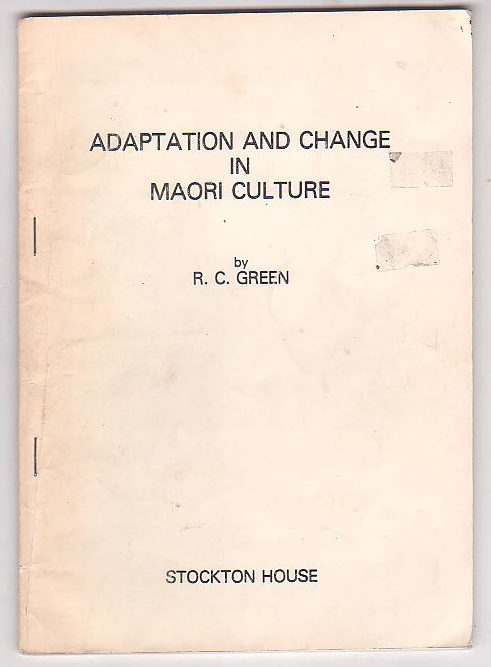 Image for Adaptation and Change in Maori Culture