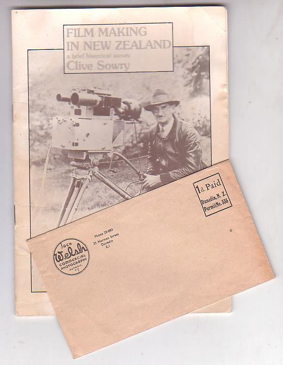 Image for Film Making in New Zealand: a brief historical survey