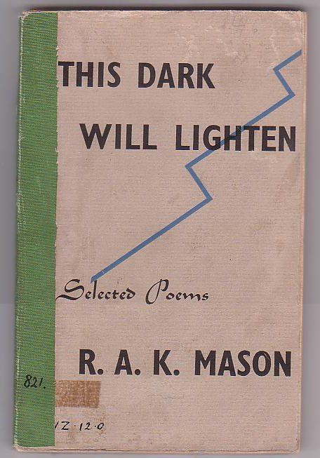Image for This Dark Will Lighten: Selected Poems 1923-41